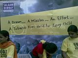 Salaam bombay is fighting for a tobacco-free world